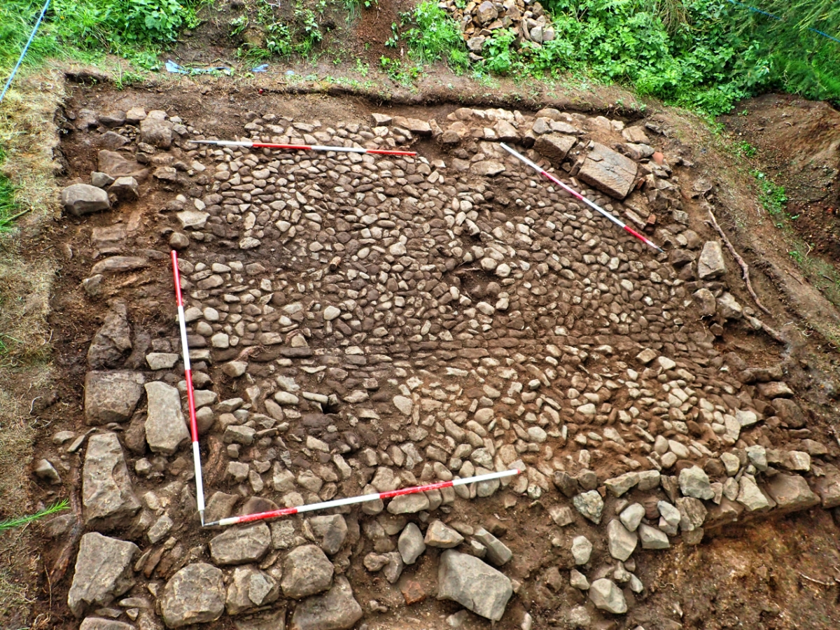 Capt. Cooks' Cottage Archaelogical Dig